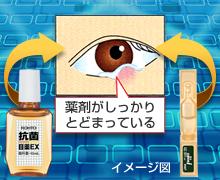 ものもらい・結膜炎に効く抗菌目薬